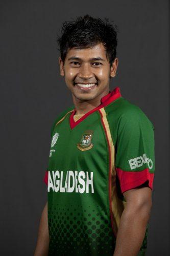 23 سالہ مشفق الرحیم ٹیم کے بہترین کھلاڑیوں میں گردانے جاتے ہیں (تصویر: Getty Images)