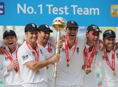 انگلستان اس وقت ٹیسٹ کی عالمی درجہ بندی میں سرفہرست ہے (تصویر: Getty Images)
