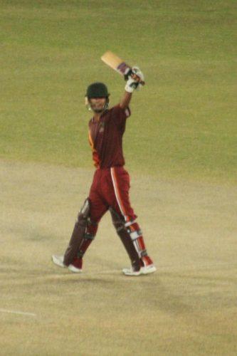 افغان چیتاز کے نجیب اللہ زادران نے 51 رنز کی ناقابل شکست اننگ کھیلی (تصویر: Faysal Cricket)