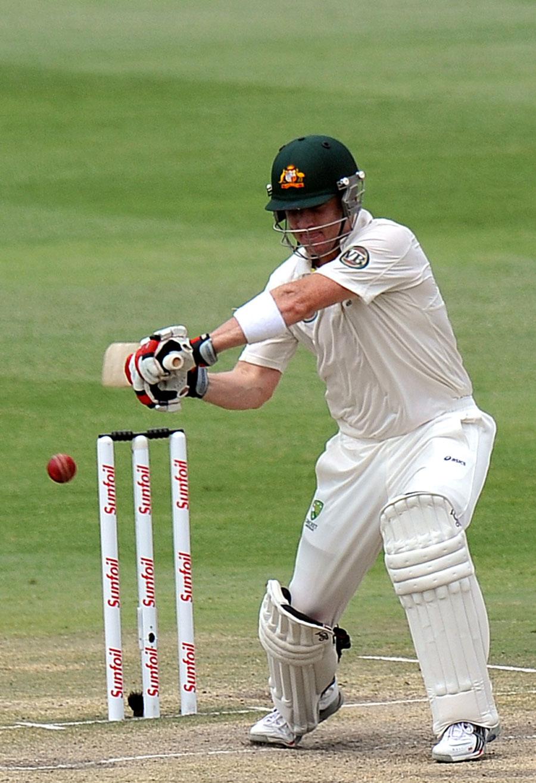 بریڈ ہیڈن نے جنوبی افریقہ کے خلاف جوہانسبرگ ٹیسٹ میں فتح گر اننگز کھیل کر اپنی اہمیت ثابت کی ہے اور یوں نیوزی لینڈ کے خلاف بھی جگہ پانے میں کامیاب رہے (تصویر: AFP)