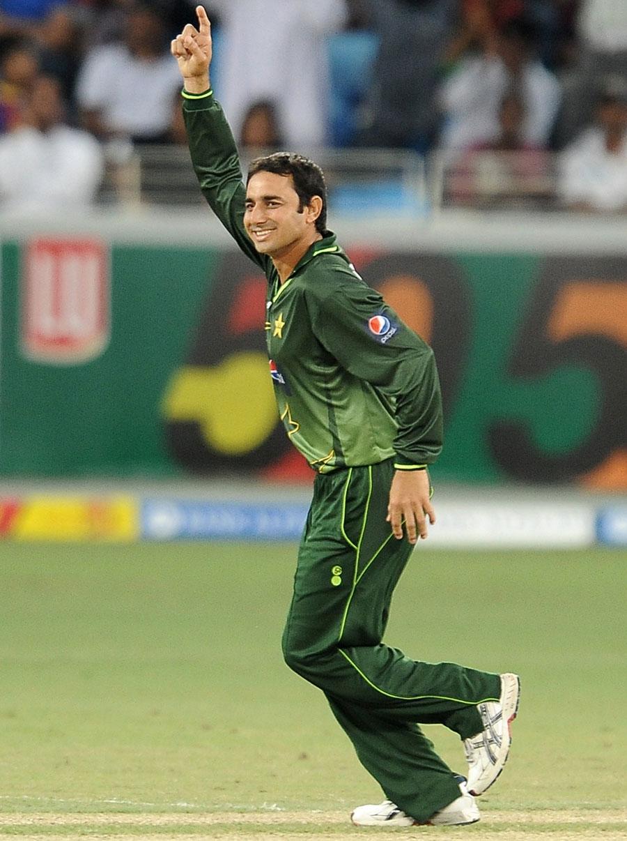 سعید اجمل اس وقت ایک روزہ کرکٹ کی عالمی درجہ بندی میں سرفہرست گیند باز ہیں (تصویر: AFP)
