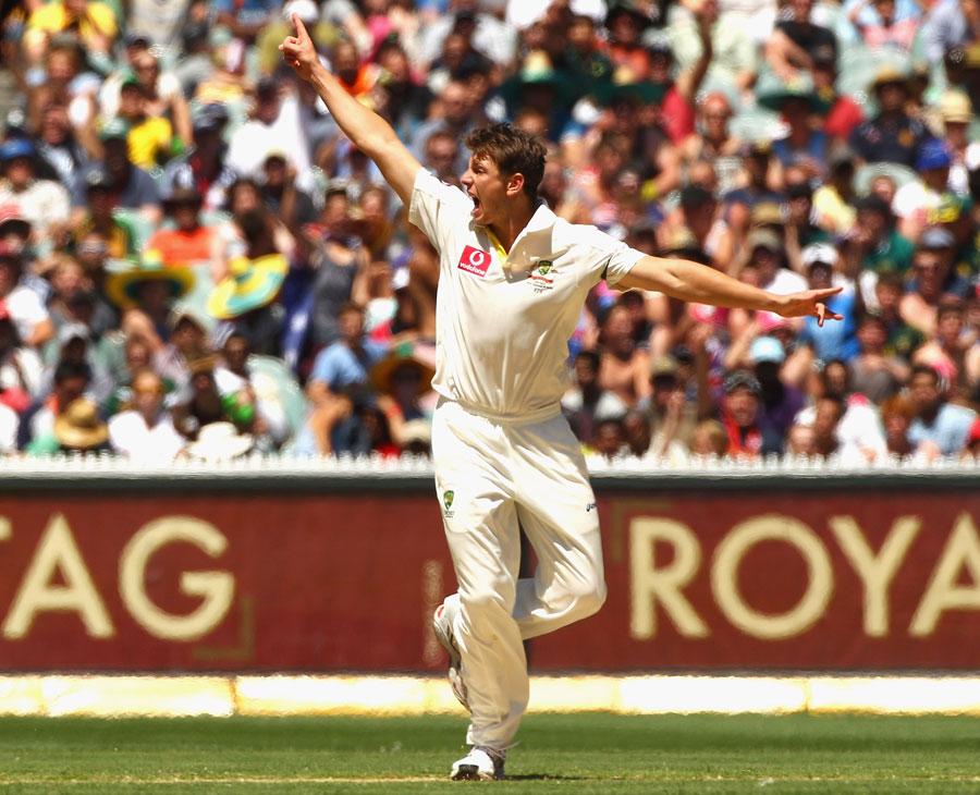جیمز پیٹن سن نے اپنا کہا درست ثابت کر دکھایا اور آسٹریلیا کی فتح میں مرکزی کردار ادا کرتے ہوئے میچ کے بہترین کھلاڑی قرار پائے (تصویر: Getty Images)