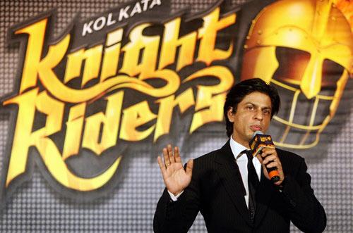 شاہ رخ خان، مالک کولکتہ نائٹ رائیڈرز (تصویر: AFP)
