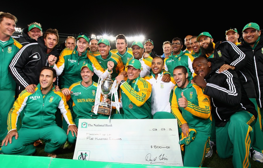 جنوبی افریقی ٹیم ایک روزہ سیريز میں پیش کی جانے والی کارکردگی کو دہرانے کی خواہاں (تصویر: Getty Images)