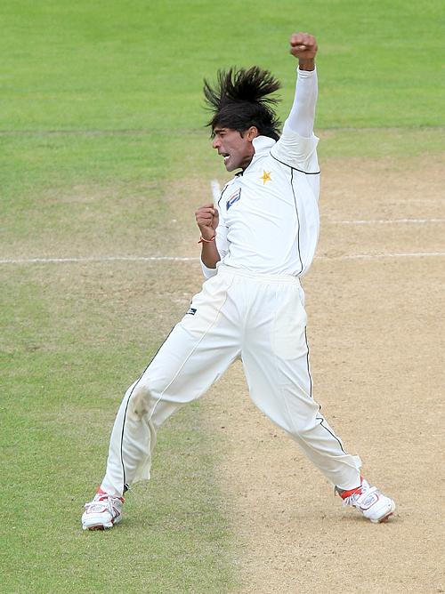 محمد عامر نے 14 ٹیسٹ کے مختصر کیریئر میں 51 وکٹیں حاصل کیں (تصویر: Getty Images)