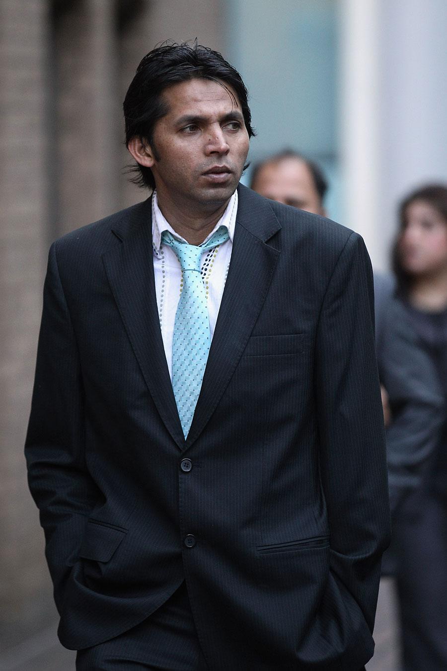محمد آصف پر آئی سی سی کی 7 سالہ پابندی بدستور عائد رہے گی (تصویر: Getty Images)