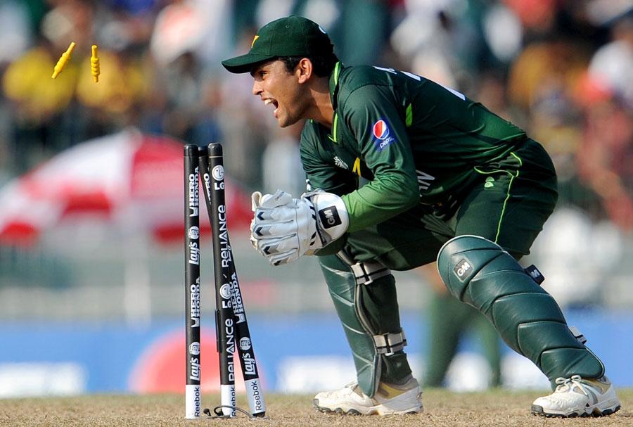 بیٹنگ کی صلاحیت کامران اکمل کو پاکستان کے تمام وکٹ کیپرز سے ممتاز کرتی ہے (تصویر: Getty Images)