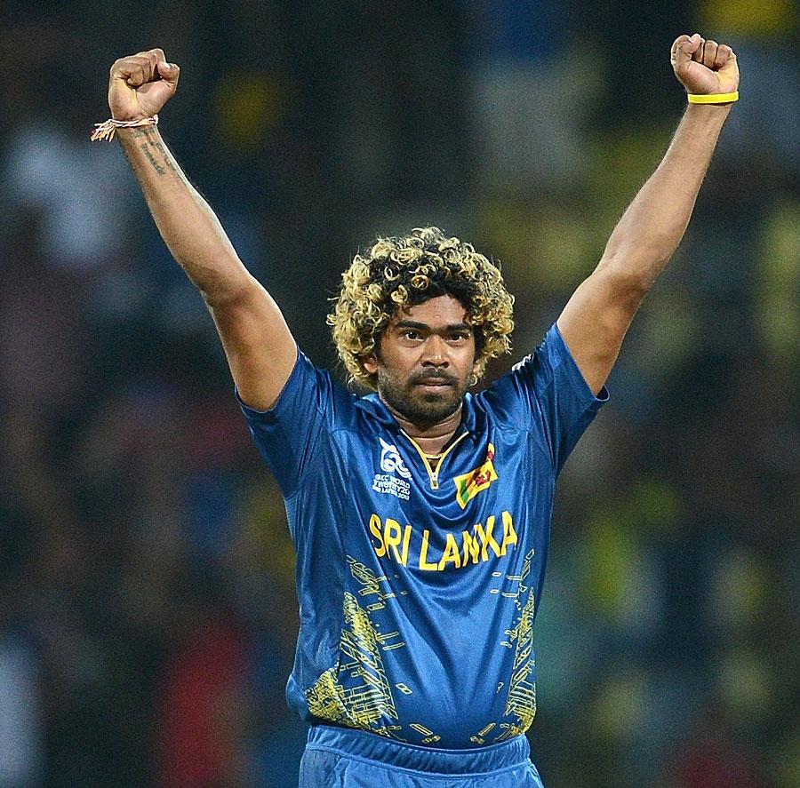 نیوزی لینڈ کے خلاف سپر اوور میں مالنگا کے یارکرز نے سری لنکن فتح پر مہر ثبت کی (تصویر: AFP)
