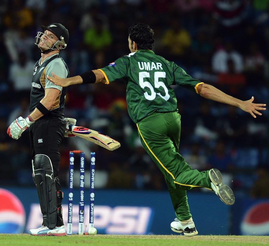 نیوزی لینڈ کو بمشکل زیر کرنے والا پاکستان ممکنہ طور پر سپر 8 میں جنوبی افریقہ، بھارت اور آسٹریلیا جیسے حریفوں کا کیسے سامنا کرے گا؟ (تصویر: AFP)