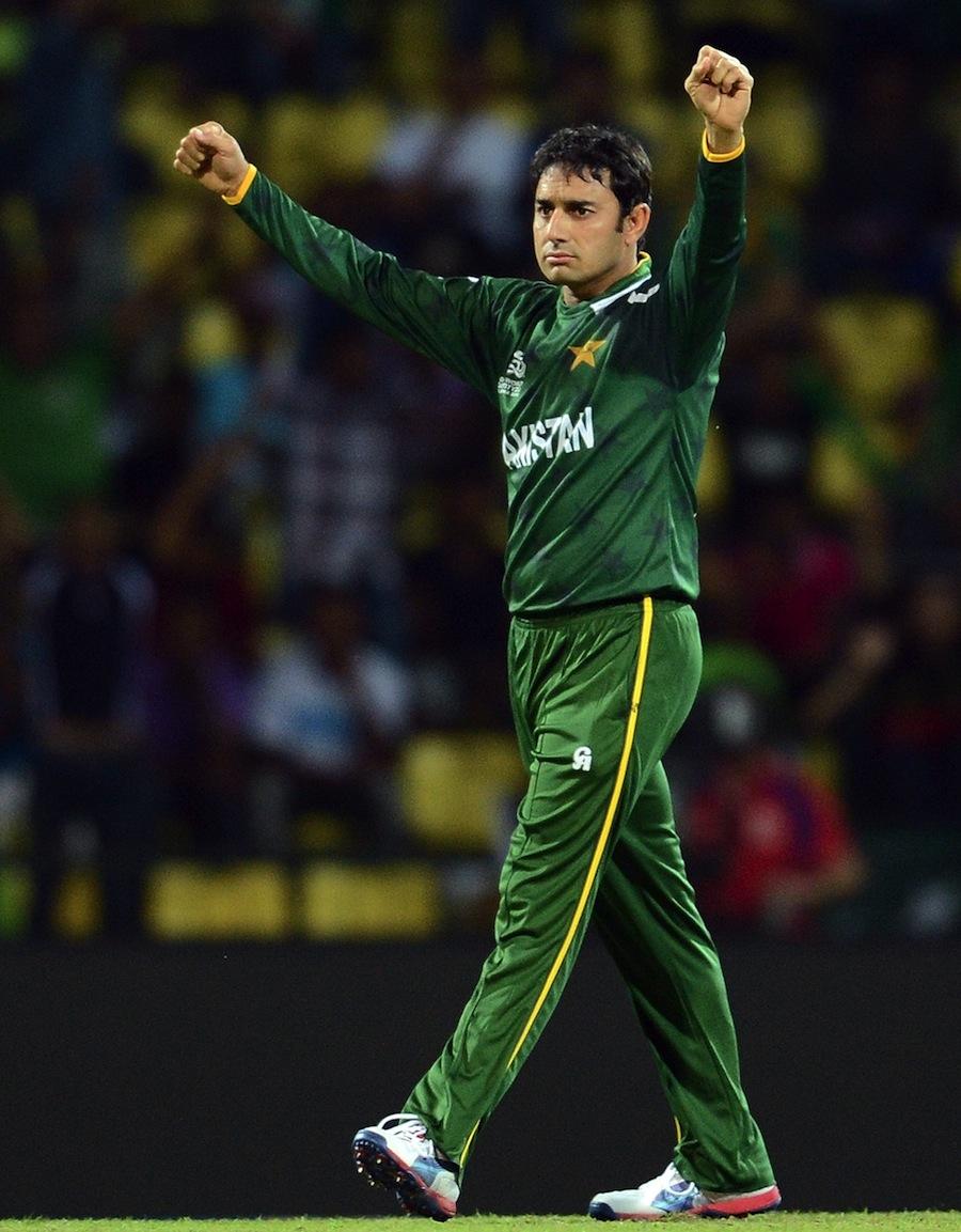 اس وقت سعید اجمل کو سمجھنے والے بلے بازوں کی تعداد انگلیوں پر گنی جا سکتی ہے: ابراہم ڈی ولیئرز (تصویر: AP)