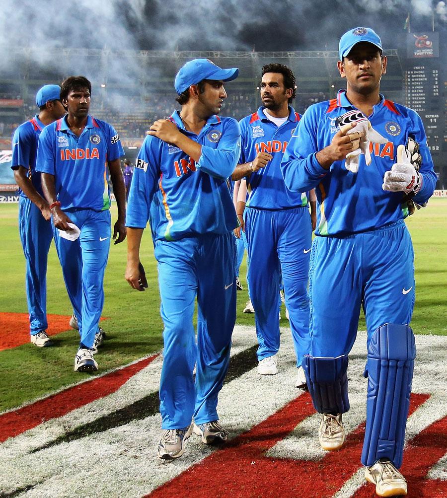 بھارت کو پورے ٹورنامنٹ میں صرف ایک شکست ہوئی اور وہ باہر ہو گیا (تصویر: ICC)