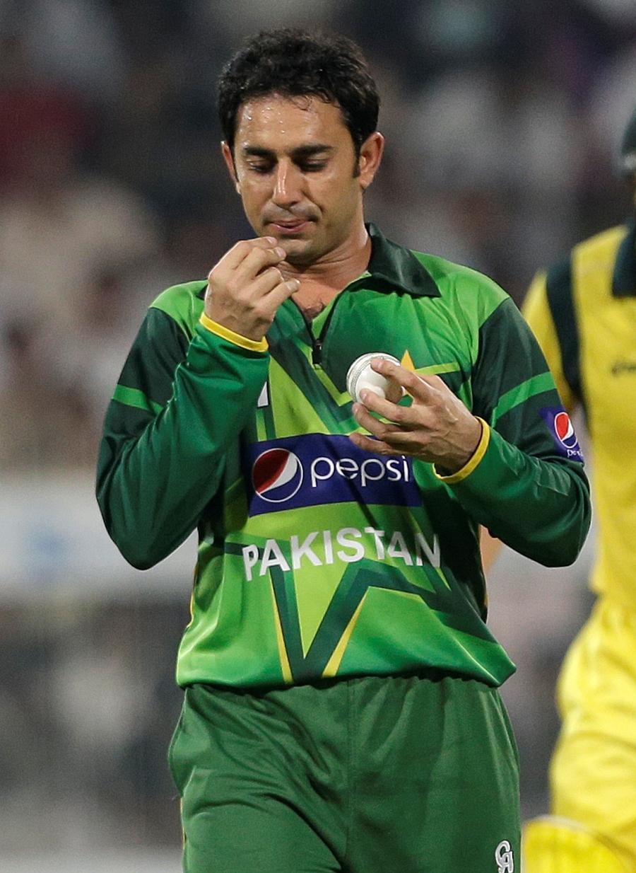سعید اجمل ٹیم میں شامل واحد پاکستانی کھلاڑی ہیں (تصویر: AP)