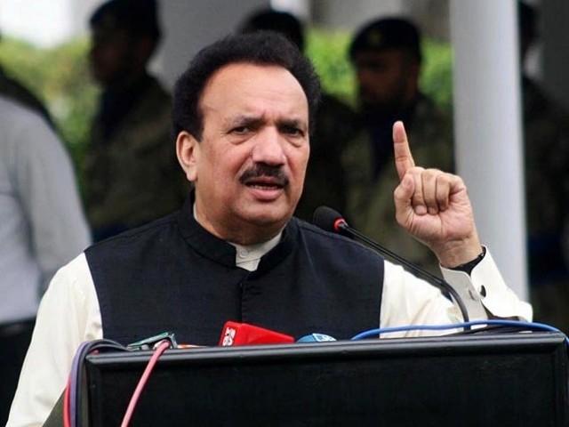 حافظ سعید کے بارے میں رحمٰن ملک کے بیانات کی بھارت میں بڑے پیمانے پر مذمت کی گئی ہے (تصویر: PID)