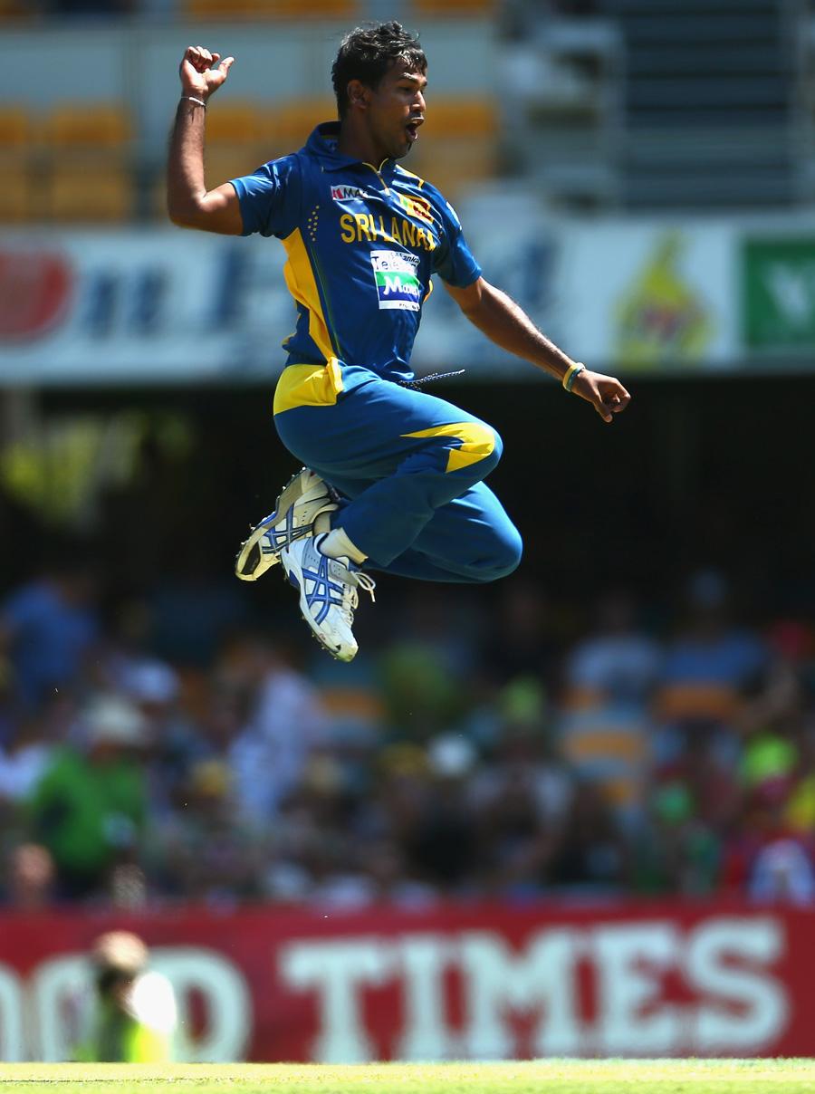 کولاسیکرا نے کیریئر میں پہلی بار 5 وکٹیں حاصل کیں اور سری لنکا کی فتح میں کلیدی کردار ادا کیا (تصویر: Getty Images)