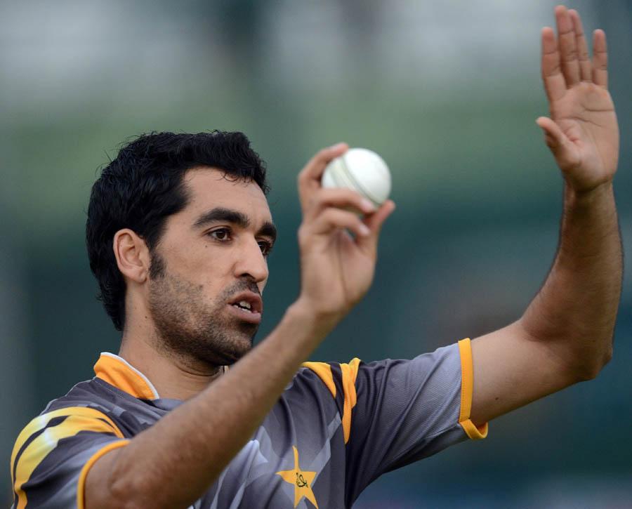 عمر گل کی غیر حاضری کی صورت میں پاکستان کو تیز باؤلنگ کے شعبے میں درکار تجربے سے محروم ہونا پڑے گا (تصویر: AFP)