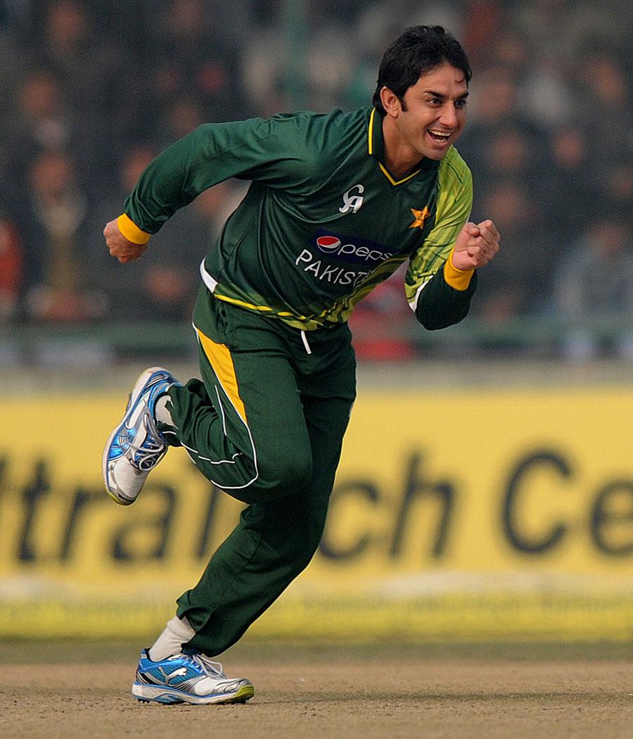 سعید اجمل سمیت چیمپئنز ٹرافی کے پاکستانی اسکواڈ کا کوئی باؤلر کبھی کرس گیل کو آؤٹ نہیں کر سکا (تصویر: BCCI)