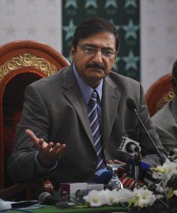 اطلاعات ہیں کہ شہباز شریف کے صاحبزادے حمزہ شہباز پی سی بی کی چیئرمین شپ حاصل کرنے کے خواہاں ہیں (تصویر: AFP)