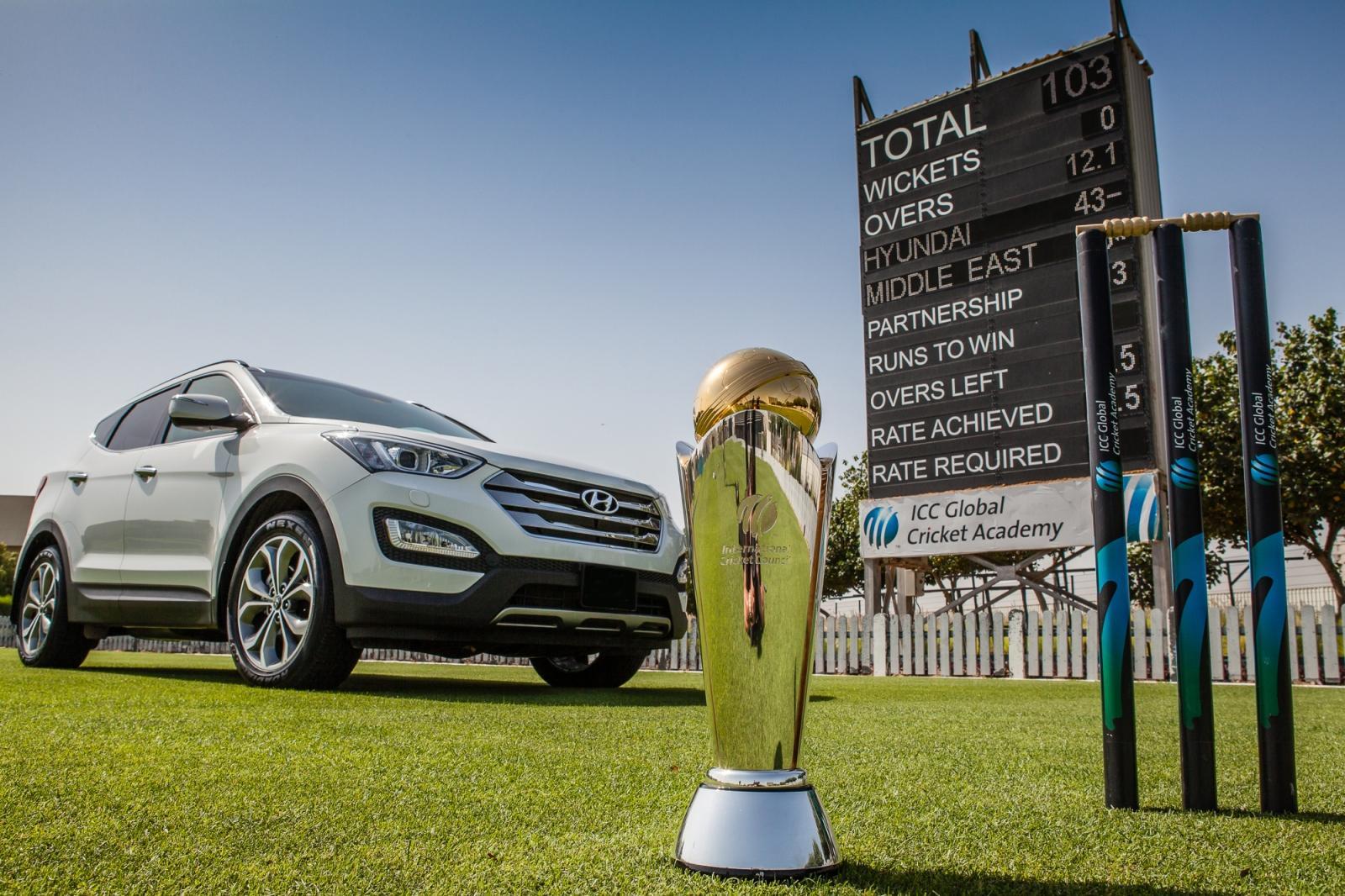 چیمپئنز ٹرافی کے وارم اپ مقابلوں کا آغاز آج یعنی 30 مئی سے جبکہ باضابطہ مقابلوں کا آغاز 6 جون سے ہو رہا ہے (تصویر: ICC)