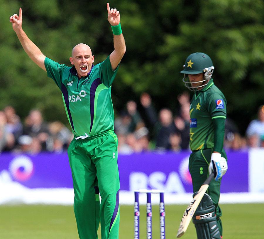 پاکستان نے 2011ء میں آئرلینڈ میں دونوں ون ڈے میچز جیتے تھے (تصویر: AFP)