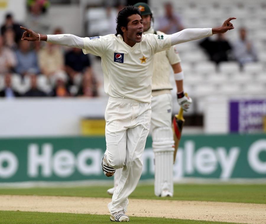محمد عامر اکتوبر 2015ء میں انگلستان کے خلاف سیریز میں پاکستان کی نمائندگی کر سکتے ہیں (تصویر: Getty Images)