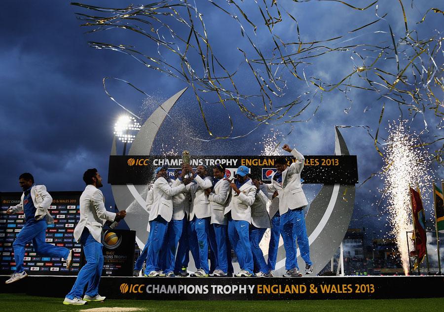 ٹیم میں سب سے زیادہ یعنی پانچ کھلاڑی فاتح بھارتی دستے کے ہیں (تصویر: ICC)