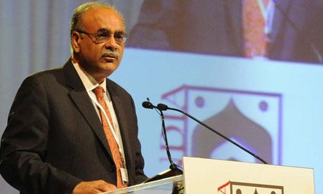 نجم سیٹھی حال ہی میں نگراں وزیراعلی پنجاب رہے ہیں (تصویر: AFP)