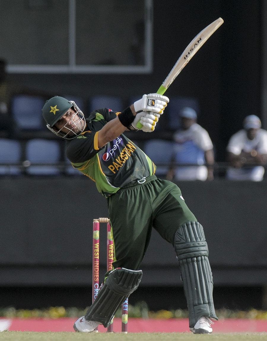 مصباح ٹیم کی کامیابیوں میں اہم ترین کردار ادا کرنے کے بعد پاکستان کی کامیابیوں کو ''ٹیم ورک'' قرار دیتا رہا (تصویر: WICB)