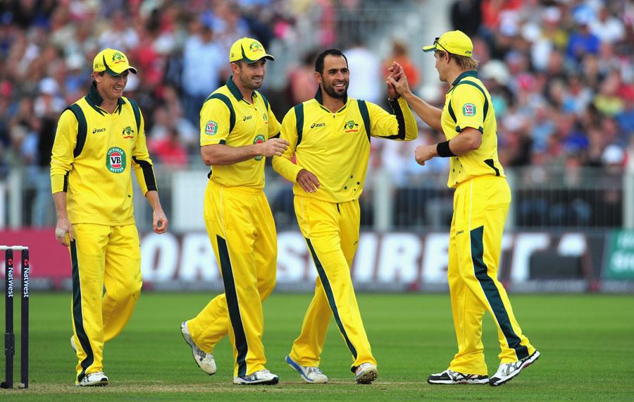 آسٹریلیا کی قومی ٹیم کا اسپانسر ایک شراب ساز ادارہ ہے (تصویر: Getty Images)