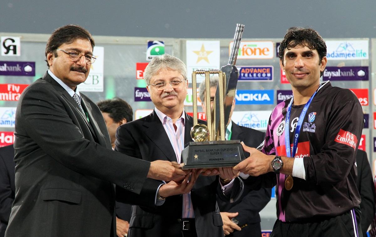 فیصل آباد نے رواں سال سپر 8 ٹی 20 کپ کے فائنل میں سیالکوٹ کو شکست دے کر چیمپئنز لیگ میں جگہ پائی تھی (تصویر: PCB)