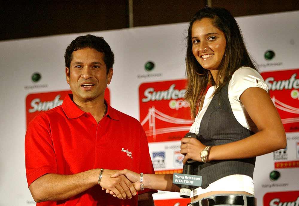 جب سچن نے کار کا تحفہ دیا تو ان کو نہیں جانتی تھی: ثانیہ مرزا (تصویر: OutlookIndia.com)