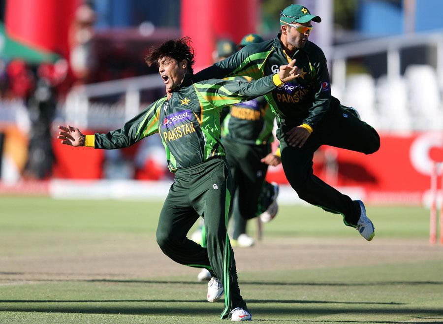 انور علی کو شاندار آل راؤنڈ کارکردگی پر میچ کا بہترین کھلاڑی قرار دیا گیا (تصویر: AFP)