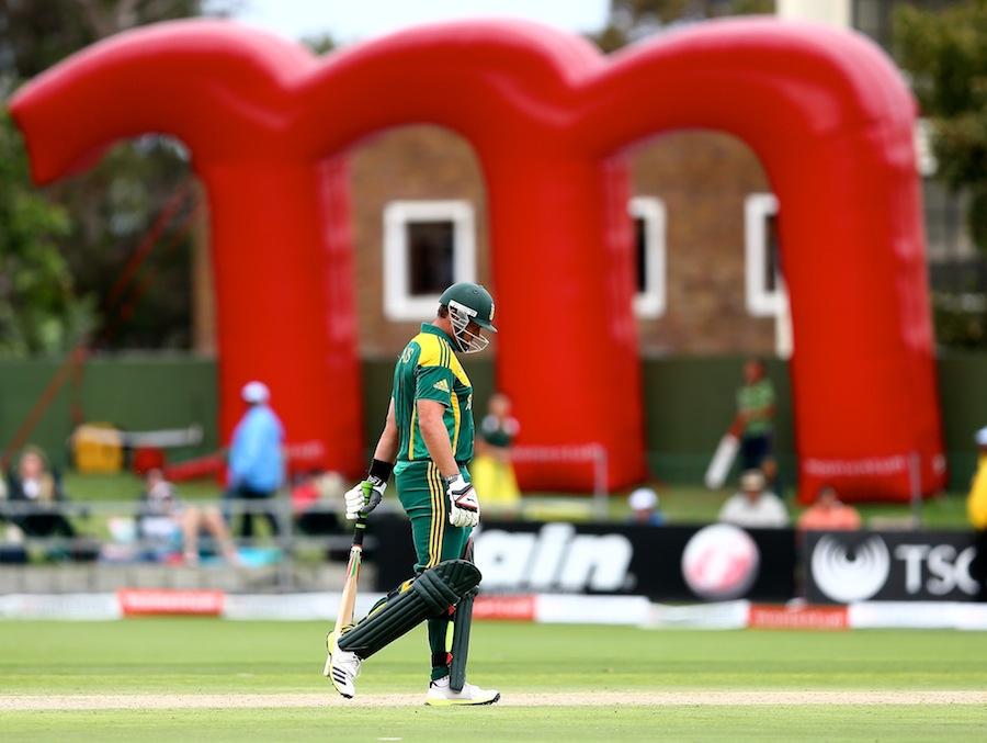 ژاک کیلس پورٹ ایلزبتھ میں ناکام ہوئے اور جنوبی افریقہ مقابلہ ہار گیا (تصویر: Getty Images)