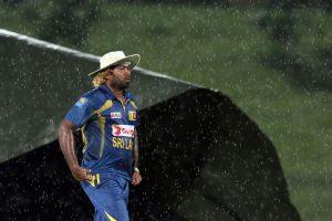 گزشتہ سال کی طرح اس سال بھی نیوزی لینڈ-سری لنکا سیریز کا آغاز بارش سے ہوا (تصویر: AP)