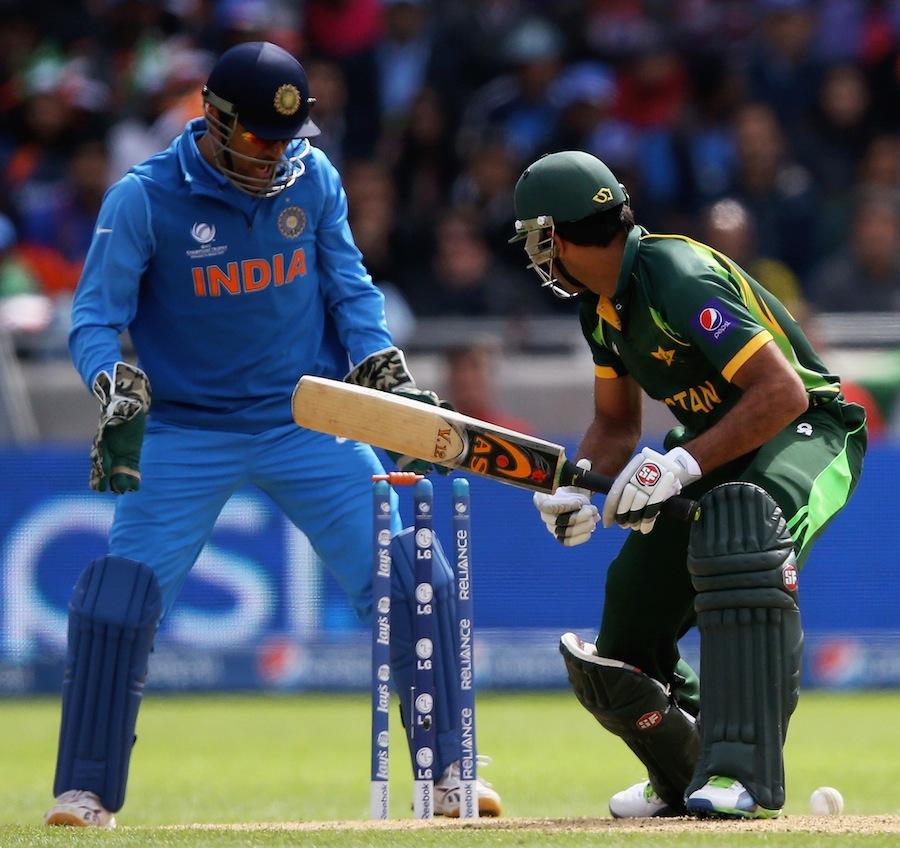 پاکستانیوں کے لیے سال کا مایوس کن ترین لمحہ، چیمپئنز ٹرافی میں بھارت کے ہاتھوں شکست اور ٹورنامنٹ سے بغیر کوئی مقابلہ جیتے باہر ہونا (تصویر: ICC)