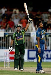 محمد حفیظ کی شاندار سنچری انہیں 'مرد میدان' کا اعزاز دینے کے لیے کافی تھی (تصویر: Getty Images)
