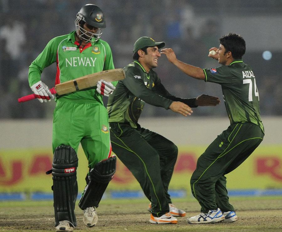 پاکستان نے اگلے ماہ 2012ء میں حاصل کردہ ایشیا کپ اعزاز کا دفاع کرنا ہے (تصویر: AFP)