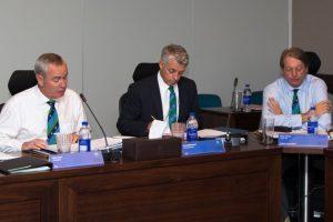 اجلاس کے پہلے دن جن اصولوں پر اتفاق کیا گیا ہے، اس سے تینوں ممالک کی گرفت مضبوط ہوگی (تصویر: ICC)