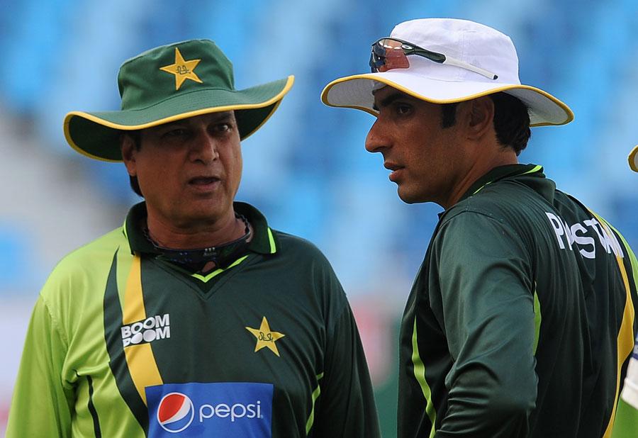 محسن خان کے مختصر دورانیے میں پاکستان نے انگلستان کو تاریخی کلین سویپ شکست دی تھی (تصویر: AFP)