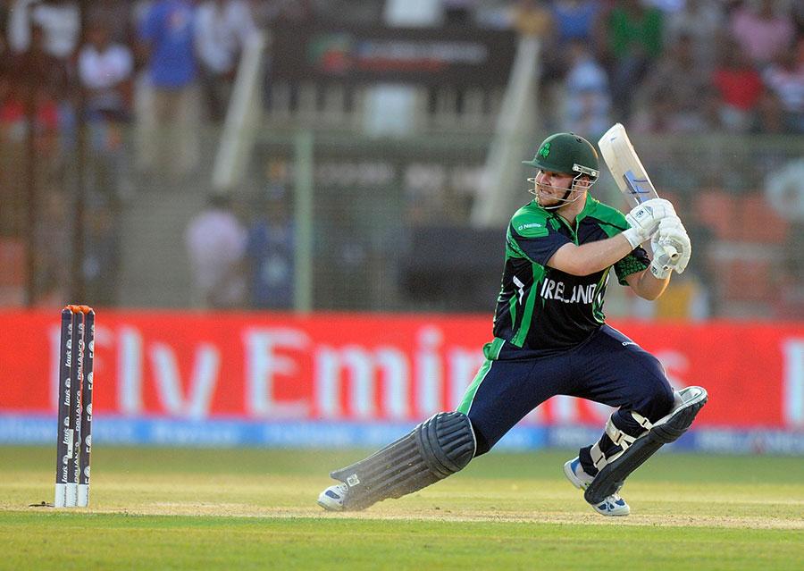 پال اسٹرلنگ کی شاندار بیٹنگ آئرلینڈ کی فتح کے لیے کافی ثابت ہوئی (تصویر: ICC)