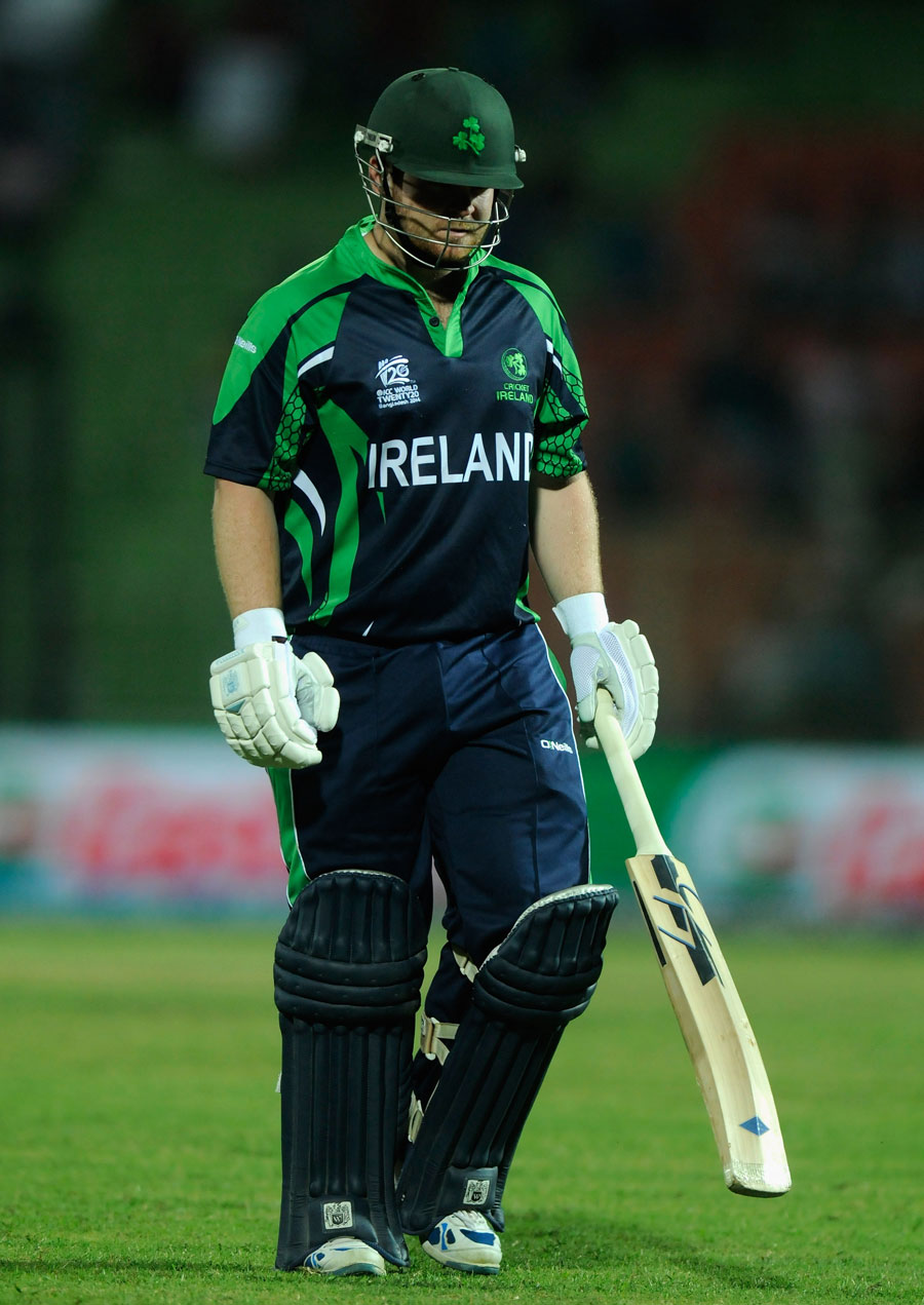 آئرلینڈ کے لیے صرف ایک لفظ ہے، بدقسمت، شاندار کارکردگی محض دو گھنٹوں میں ٹورنامنٹ سے باہر کرگئی (تصویر: ICC)