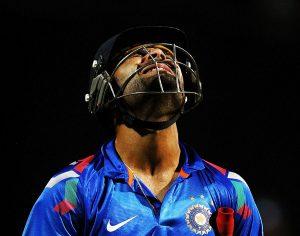 بھارت ویراٹ کوہلی کی کپتانی میں دونوں اہم مقابلوں میں شکست کھا کر ایشیا کپ سے باہر ہوا (تصویر: Getty Images)