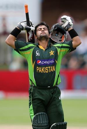 احمد شہزاد پاکستان کی جانب سے طویل ترین ٹی ٹوئنٹی اننگز کھیلنے کا ریکارڈ رکھتے ہیں (تصویر: AFP)