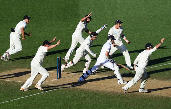 ANZ Test Series, NZ v England, 3rd Test Match, 26 March 2013