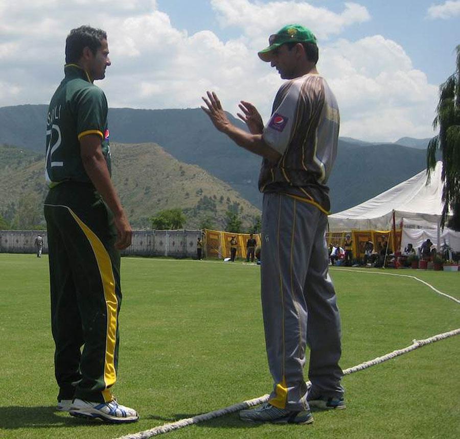 میرا ہدف فی الوقت ورلڈ کپ نہیں بلکہ دورۂ سری لنکا اور آسٹریلیا و نیوزی لینڈ کے خلاف سیریز ہیں: محمد اکرم (تصویر: ESPNCricinfo)