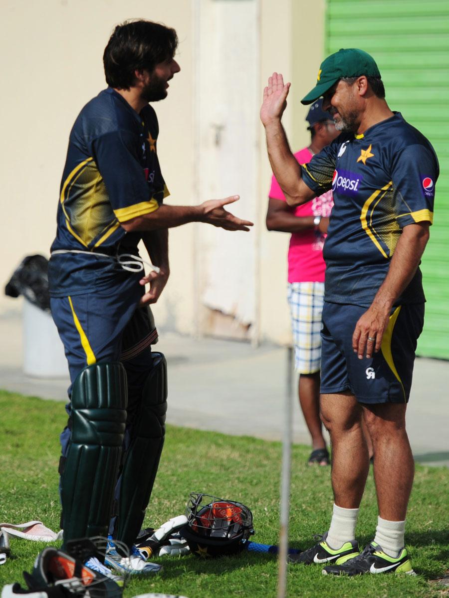کیا معین خان کا یہ بیان ٹیم میں پلیئر پاور توڑنے کے لیے اقدامات کی جانب اشارہ ہے؟ (تصویر: AFP)