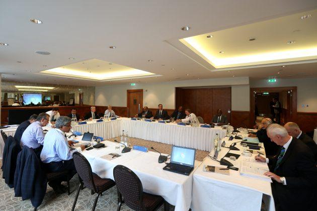 نجم سیٹھی نے چند روز قبل آئی سی سی کے بورڈ اجلاس میں شرکت کی تھی (تصویر: ICC)
