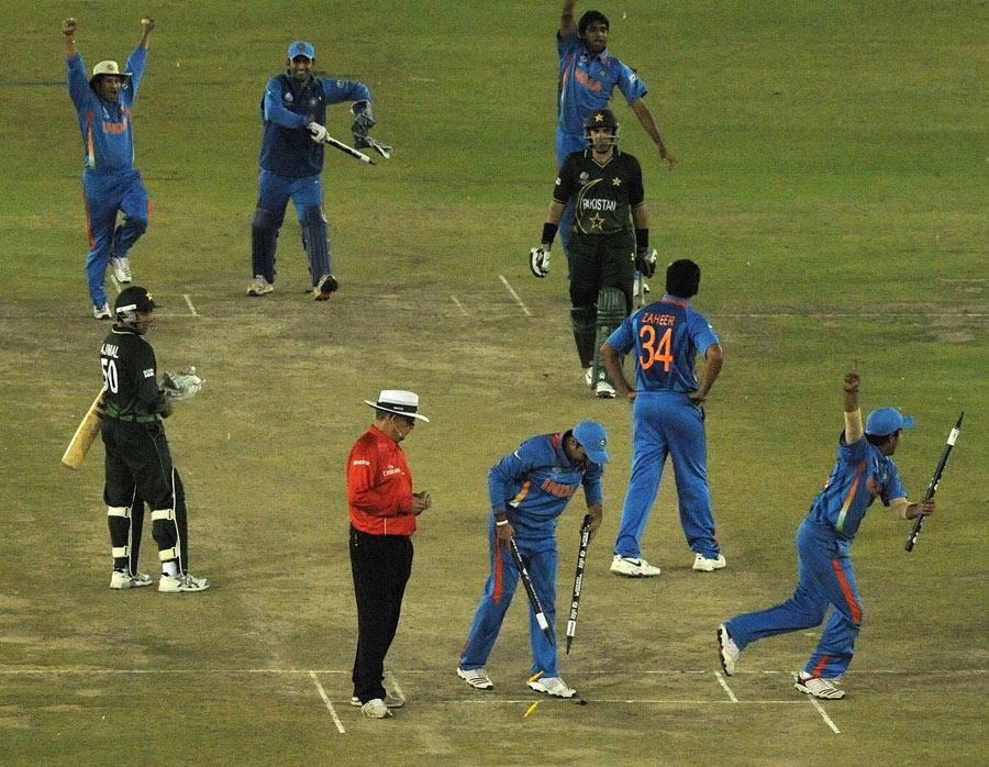 عالمی کپ 2011ء میں بھارت چیمپئن بنا تھا (تصویر: AFP)