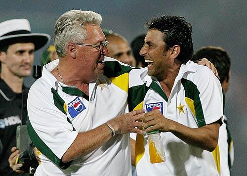 باب وولمر کے ساتھ پاکستان کے کھلاڑی ایک اچھے رہبر اور اچھے دوست سے محروم ہوگئے (تصویر: Getty Images)
