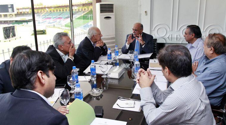 یہ پاکستان کرکٹ بورڈ کی انتظامیہ کمیٹی کا چھٹا اجلاس تھا (تصویر: پی سی بی)