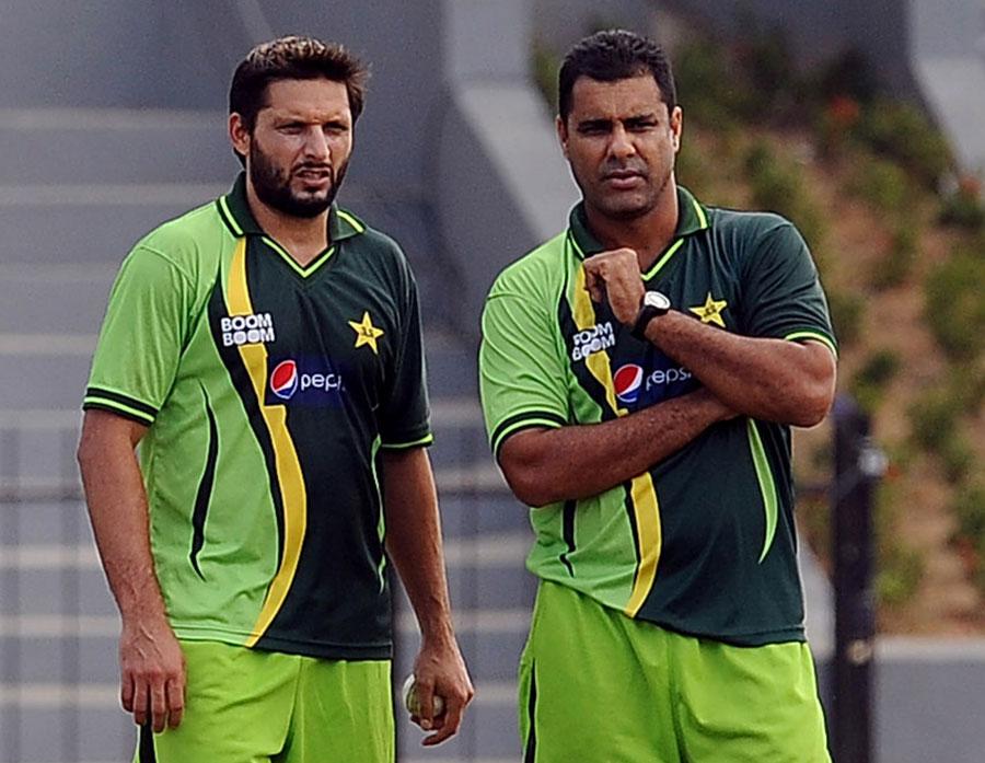 موجودہ ٹیم کے کسی کھلاڑی سے کوئی شکایت نہیں: وقار یونس (تصویر: AFP)